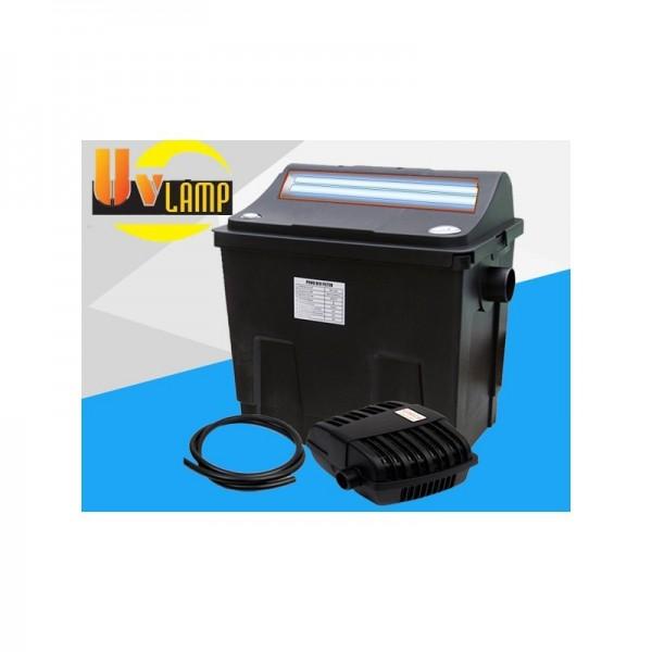 Kit filtro estanque uv 4000l acuastore Estanque sin filtro