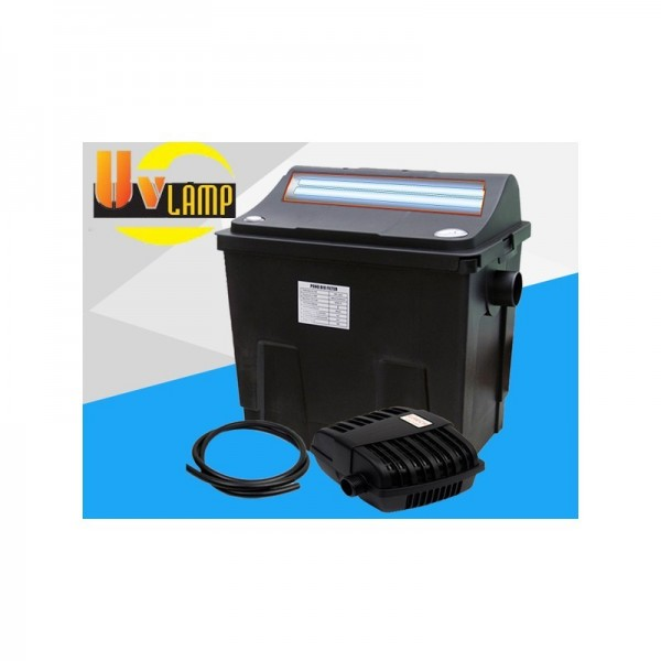 Kit filtro estanque uv 4000l acuastore for Estanque de agua 4000 litros