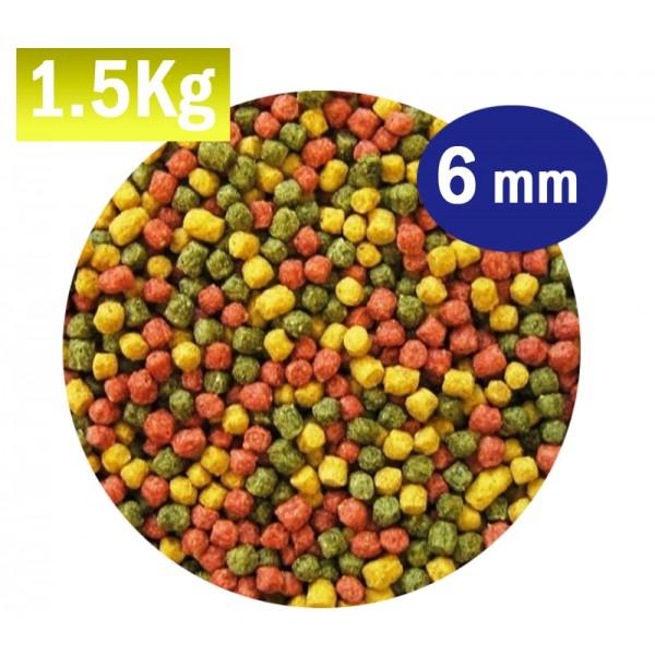 Mix alimento pro 6mm carpa koi acuastore for Alimento para carpas koi