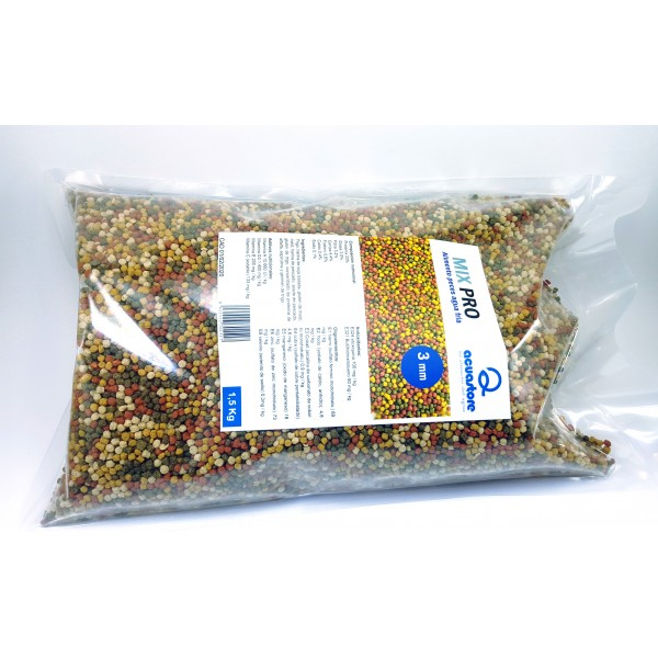 Mix alimento pro 3mm carpa koi acuastore for Alimento para carpas koi