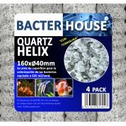 Casa bacterias espiral 160xØ40mm