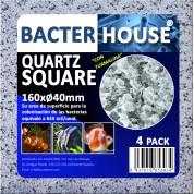 Casa bacterias rectangular 160x40mm