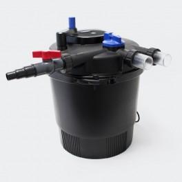 Filtro a presión + UV 36W hasta 20.000L